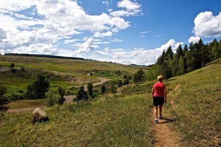 Gwen Hiking