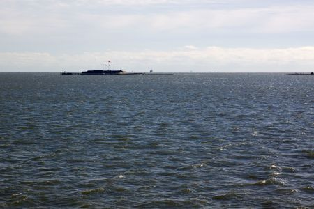 Ft. Sumter from the ferry